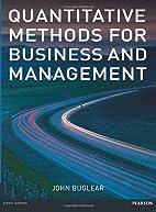 Quantitative Methods for Business &…
