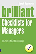 Brilliant Checklists for Managers: Your…