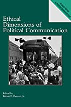 Ethical Dimensions of Political…