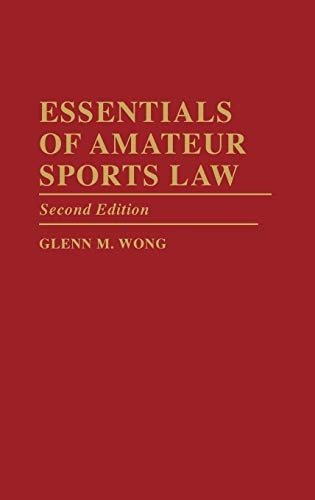 essentials-of-amateur-sports-law-2nd-edition
