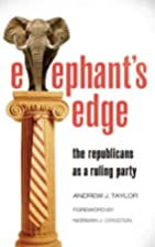 Elephant's Edge: The Republicans as a Ruling…