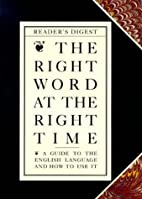 The Right word at the right time : a guide…