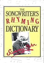 Songwriter's Rhyming Dictionary by Sammy…