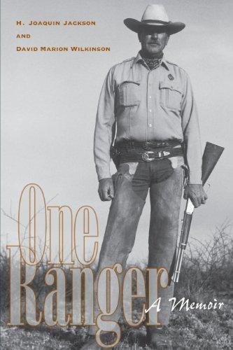 one-ranger-a-memoir-bridwell-texas-history-series