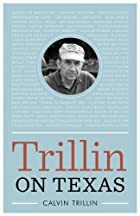 Trillin on Texas (Bridwell Texas History) by&hellip;
