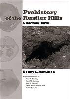 Prehistory of the Rustler Hills : Granado…