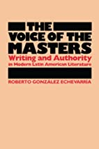 The Voice of the Masters: Writing and…
