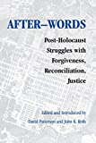 Patterson, David: After-Words (Pastora Goldner Series in Post-Holocaust Studies)