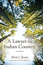 A Lawyer in Indian Country by Alvin J.…