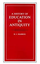 A History of Education in Antiquity by H.I.…