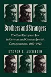 Aschheim, Steven E.: Brothers and Strangers: The East European Jew in German and German Jewish Consciousness, 1800-1923