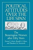 Political Attitudes over the Life Span: The…