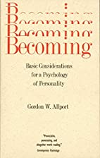 Becoming: Basic Considerations for a…