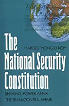 The National Security Constitution: Sharing…