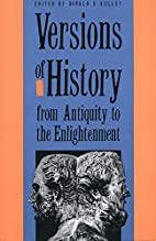 Versions of History from Antiquity to the…