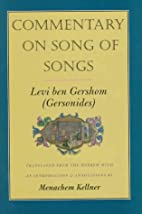 Commentary on Song of Songs by Levi ben…