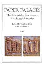 Paper Palaces: The Rise of the Renaissance…