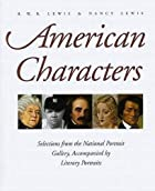 American Characters: Selections from the…