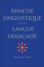 Analyse linguistique de la langue française…