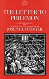 Fitzmyer, Joseph A.: The Letter to Philemon (The Anchor Yale Bible Commentaries)