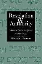 Revelation and Authority: Sinai in Jewish…
