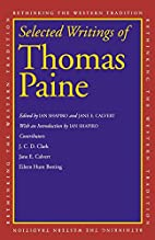 Selected writings of Thomas Paine by Thomas…