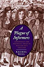 A Plague of Informers: Conspiracy and…