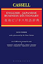 The Cassell English-Japanese Business…