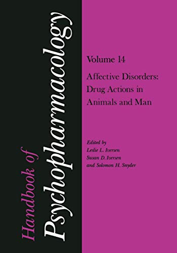 handbook-of-psychopharmacology-section-iii-human-psychopharmacology-vol-14-affective-disorders-drug-actions-in-animals-and-man