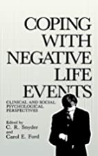 Coping with Negative Life Events (Springer…