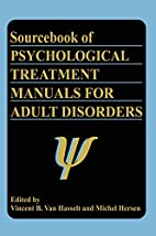 Sourcebook of Psychological Treatment…