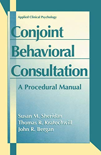 conjoint-behavioral-consultation-a-procedural-manual-applied-clinical-psychology
