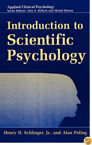 Introduction to Scientific Psychology (Nato Science Series B:)