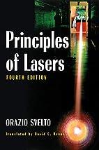 Principles of Lasers by Orazio Svelto