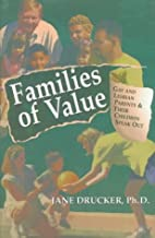 Families Of Value by Jane Drucker