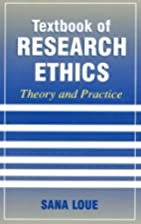 Textbook of Research Ethics: Theory and…
