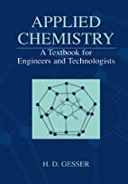 Applied Chemistry - A Textbook for Engineers…