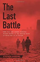 The Last Battle: When U.S. and German…
