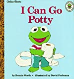 Bonnie Worth: I Can Go Potty (Muppet Babies Big Steps Book) (Golden Books)