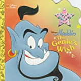 Korman, Justine: Disney's Aladdin the Genie's Wish (Deluxe Super Shape Book)
