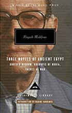 Three Novels of Ancient Egypt: Khufu's&hellip;