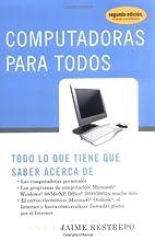 Computadoras para todos (Spanish Edition) by…