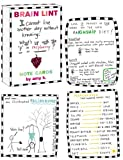 Rosenthal, Amy Krouse: Brain Lint Note Cards