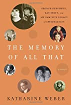 The Memory of All That: George Gershwin, Kay…