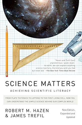 Cover of Science Matters: Achieving Scientific Literacy by James Trefil, Robert M. Hazen