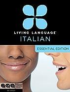 Essential Italian by n/a