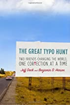 The Great Typo Hunt: Two Friends Changing…
