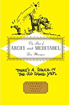 The Best of Archy and Mehitabel…