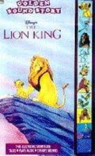 Disney's the Lion King (Golden Sound Story)…