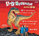 Ron Roy: Books S to V - The School Skeleton, The Talking T. Rex, The Unwilling Umpire, The Vampire's Vacation (A toZ Mysteries)